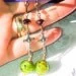 St Benedict  Exorcism Crux  Lampwork Beads
