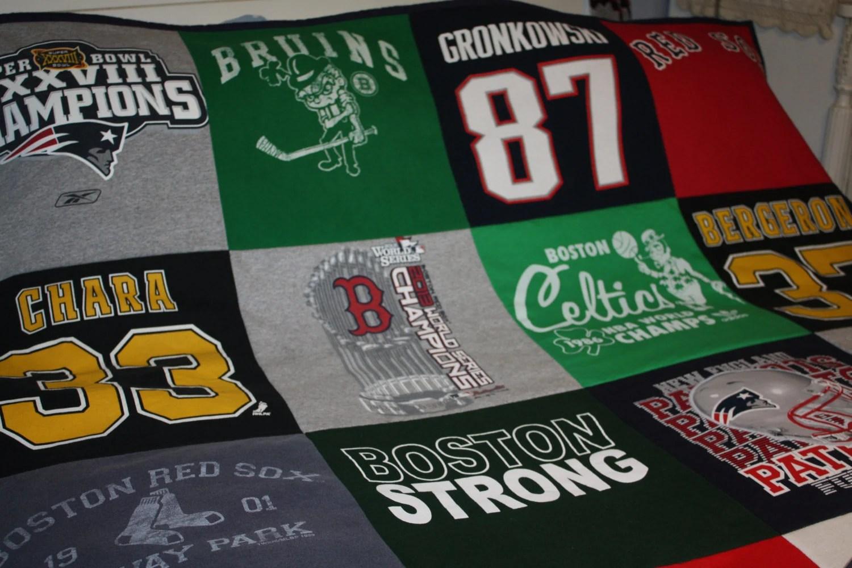 T Shirt Quilt Boston