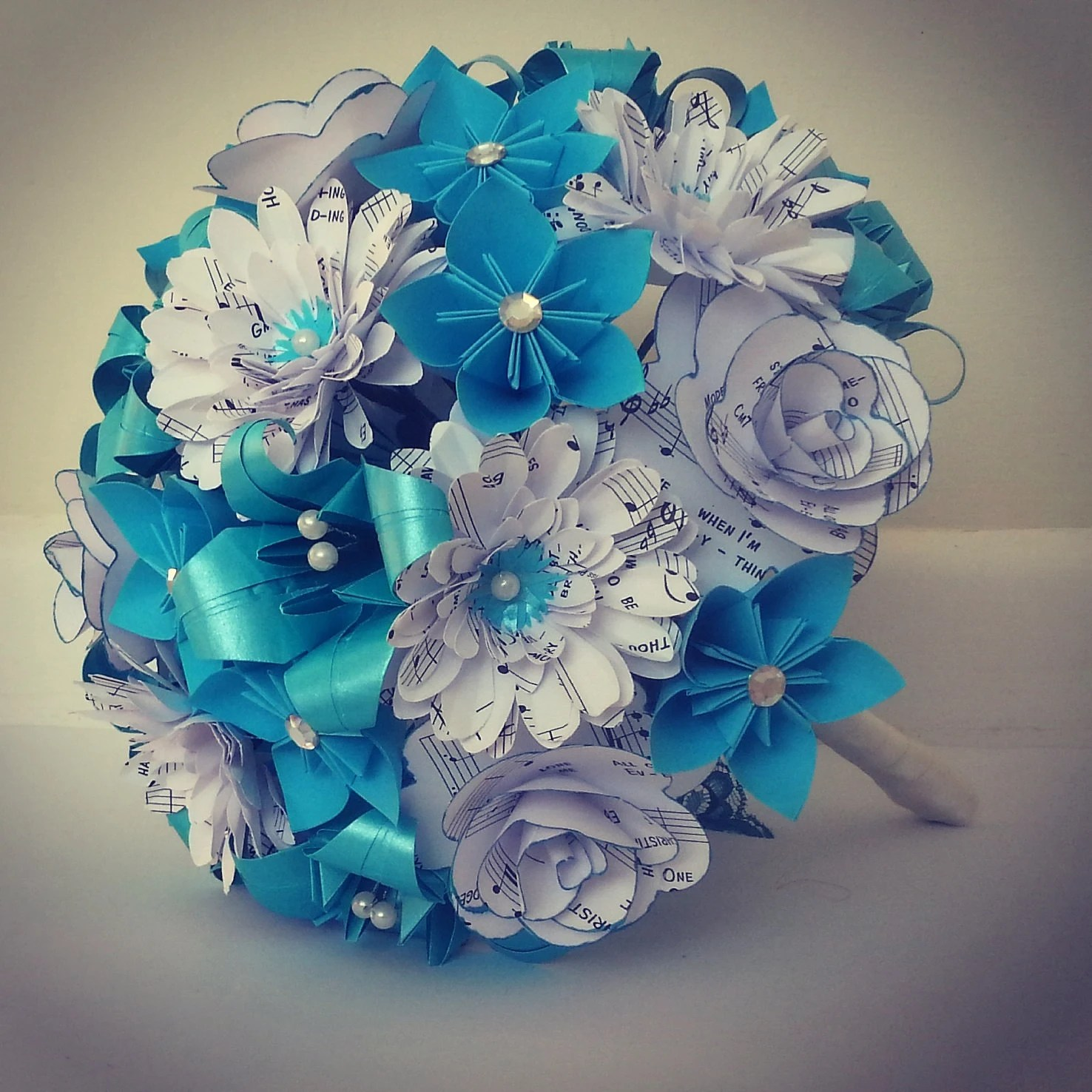 Turquoise Wedding Centerpieces With Flowers