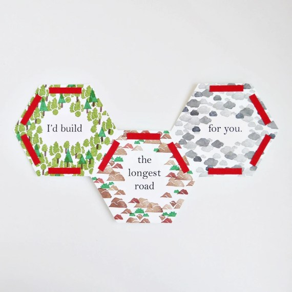 Settlers of Catan Valentine's Day Card