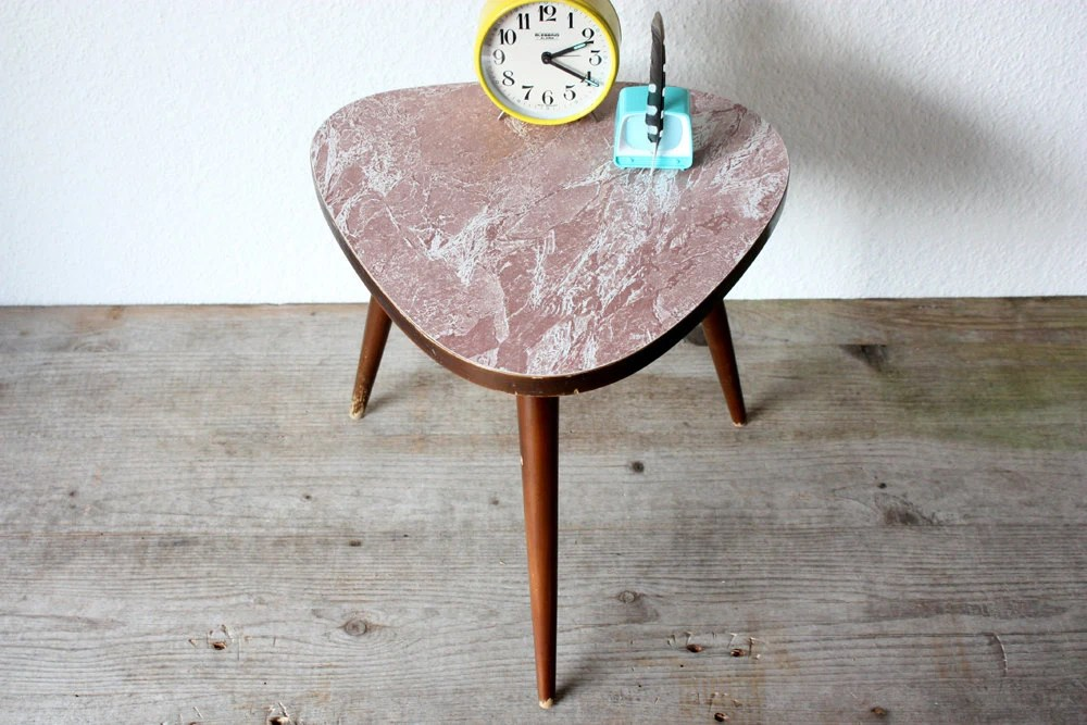 Ts Berry Furniture ... German furniture Mid Century, gift, light brown marbled | Haute Juice