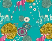 Utopia by Frances Newcombe for Art Gallery Fabrics - Paradise Dwellers Vivid - Yardage (1/4 Yard Minimum)