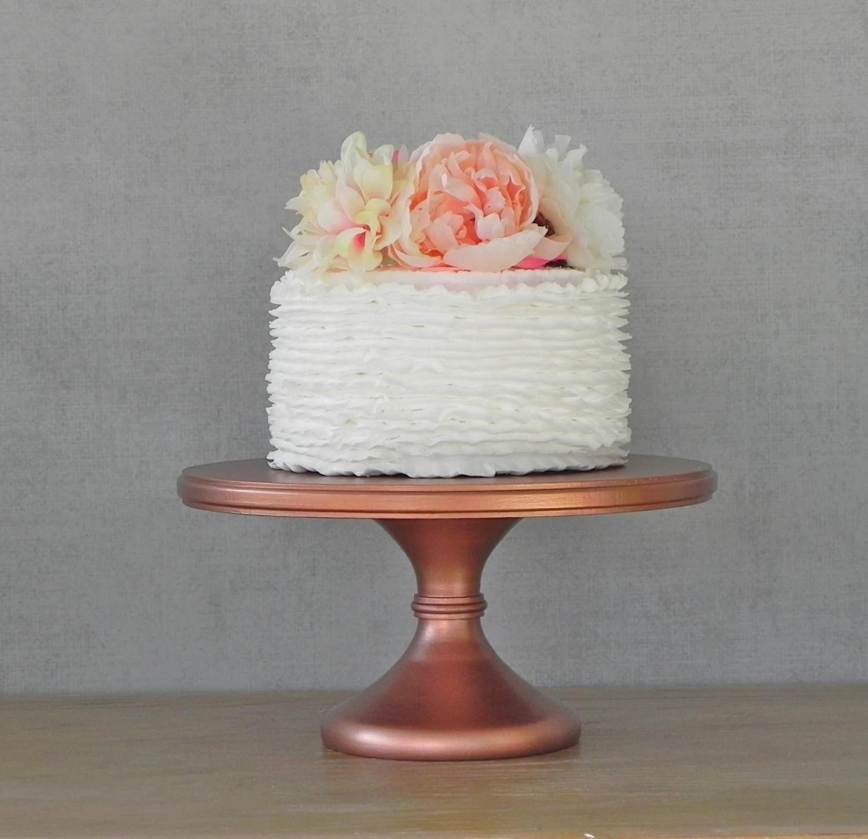 14 Wedding Cake Stand Cupcake Pedestal Rose Gold Copper
