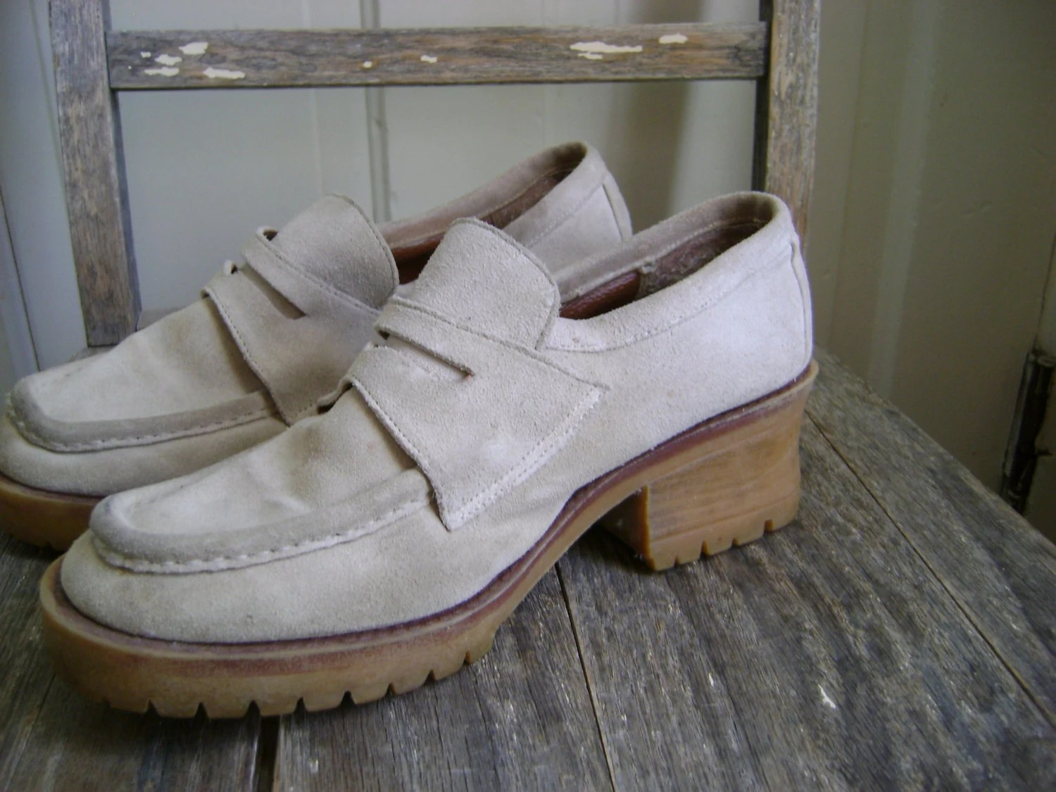 15 Dollars and Under Sale//Vintage 1990s Chunky Beige ...