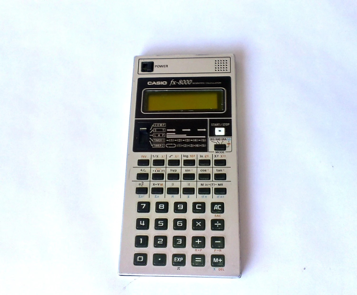 how to change base of log in calculator casio