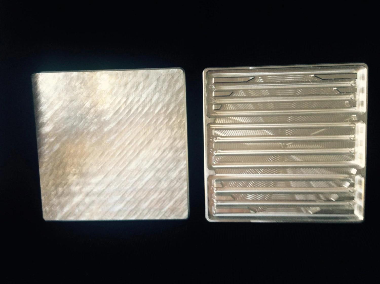 Machined Aluminum Business Cards