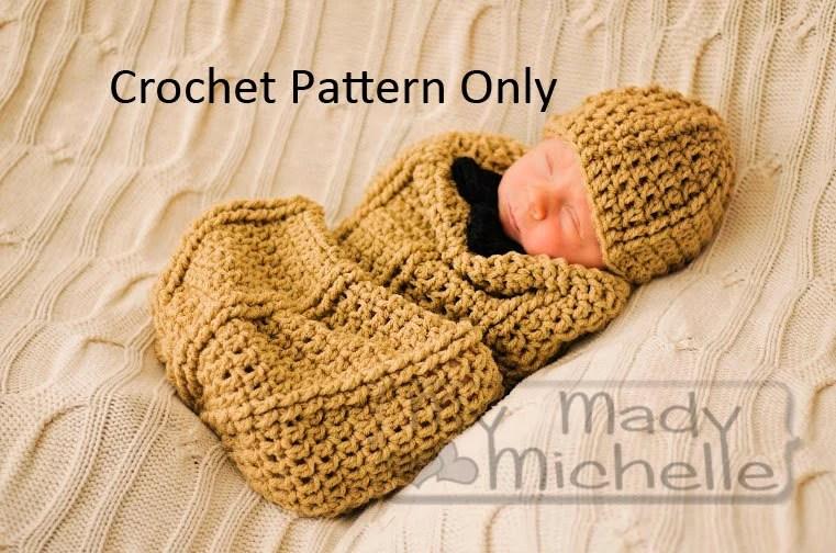 Swaddle Boy Baby Crochet Pattern Free