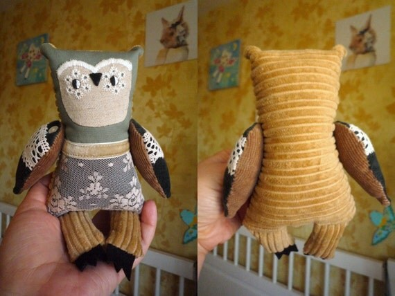 Collectible Stuffed Owls
