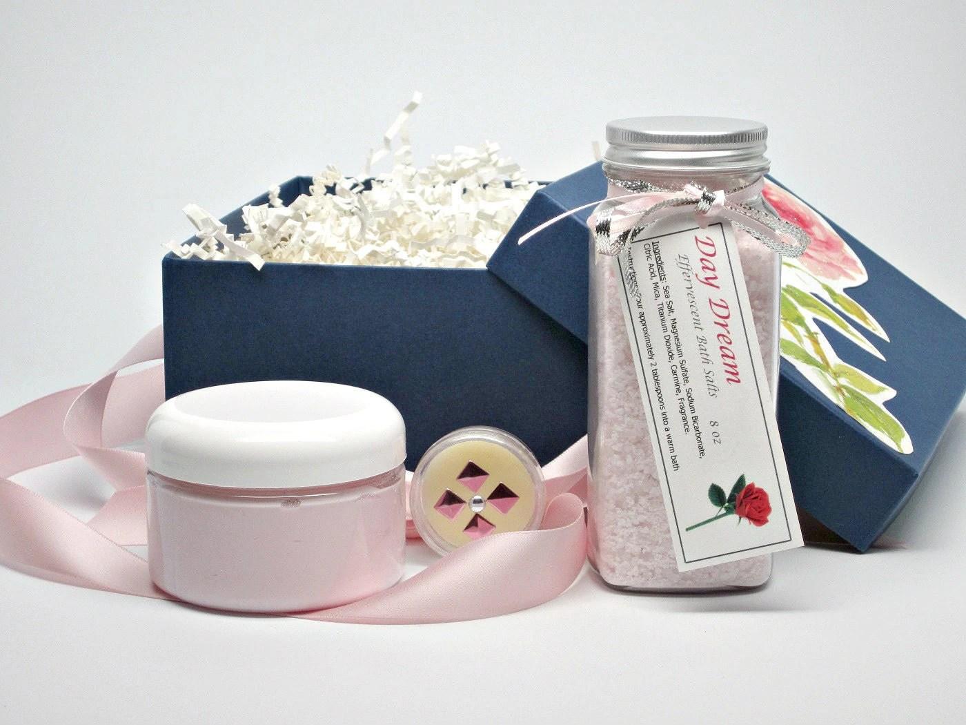 Romantic Bath And Body Gift Set Spa Gift Basket Women's