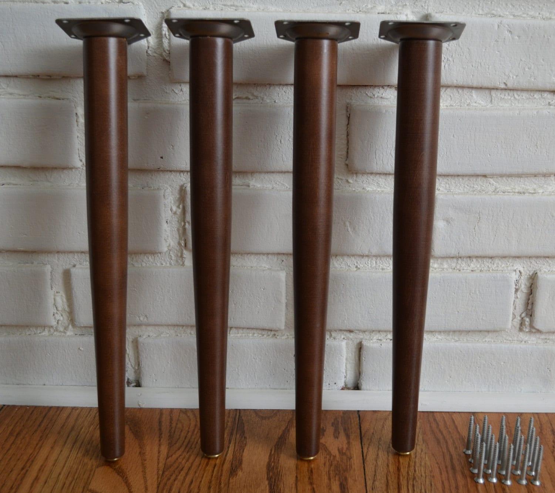 Mid Century Modern Legs Diy Kit Mcm Coffee Table Legs