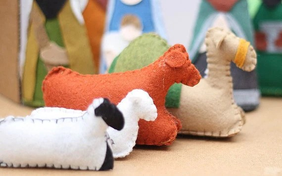 Felt Nativity Set PatternChristmas Nativity By