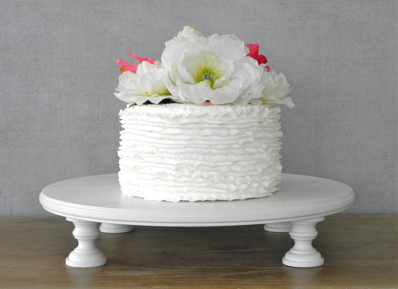 20 Cake Stand Round Wedding Cake Stand Cupcake White