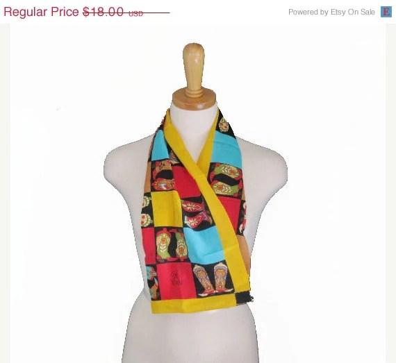 Bob Mackie Wearable Art Scarf