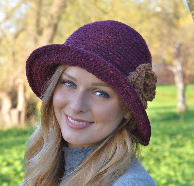 Easy Cloche Hat Crochet Pattern