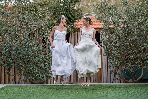 Romantic Vintage Lace Wedding Dress Boho Chiffon Open Back