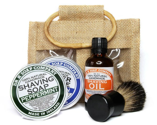 Deluxe Shaving Set For Men Fathers Day Gift by drksoapcompany