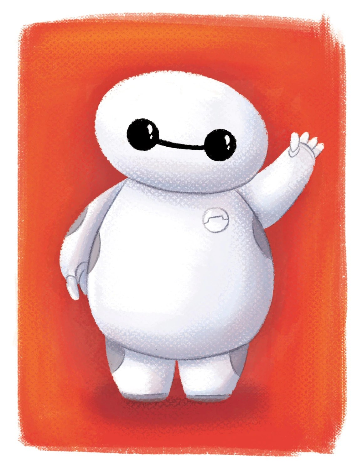 Baymax Big Hero 6 Mini Baymax Fan Art Room Decor By