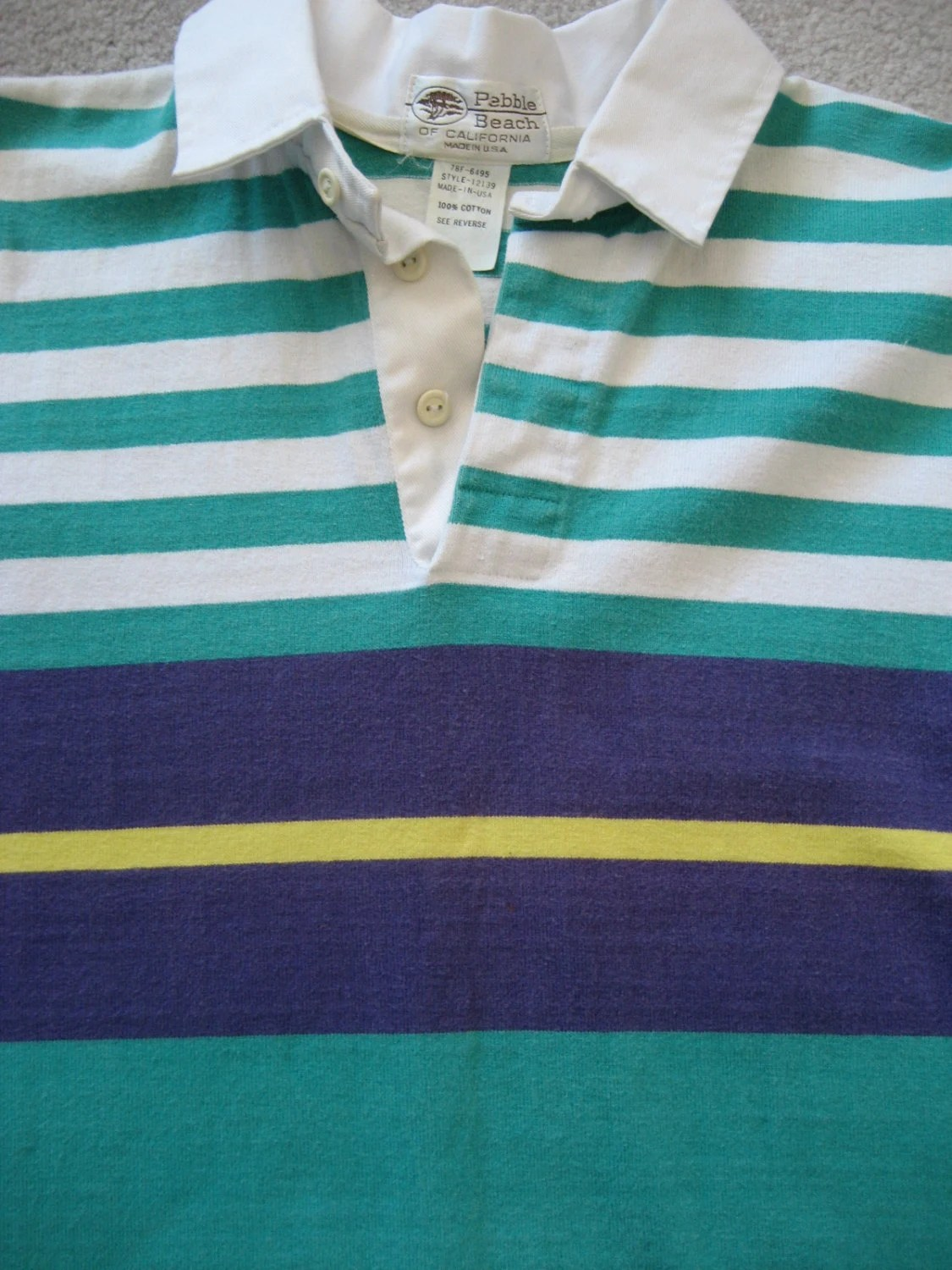 81524121 Purple Green And Gold Rugby Shirt - Rugs Ideas