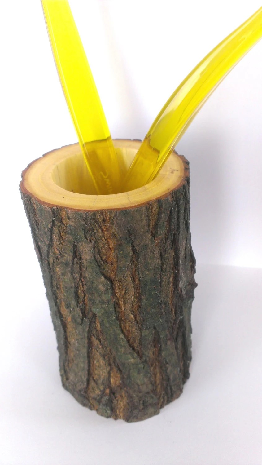 Toothbrush Holder Tree Rustic Bathroom Decor Wooden by ... on Decorative Sconces Don't Need Electric Toothbrush id=37647