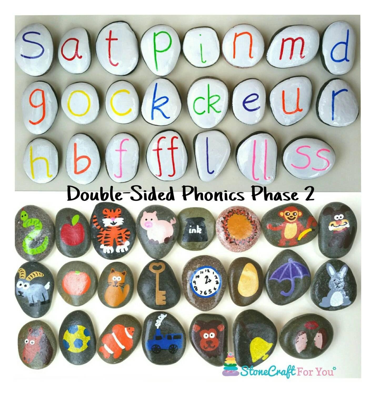 Double Sided Phonics Phase 2 By Stonecraftforyou On Etsy