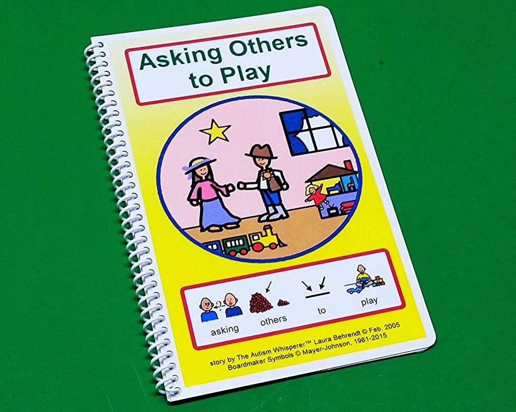 Asking Others To Play Autism Social Skills Story Pecs