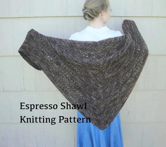 Shawl Knitting Pattern For Homespun Yarn