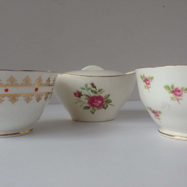 Vintage Sugar Bowls 87