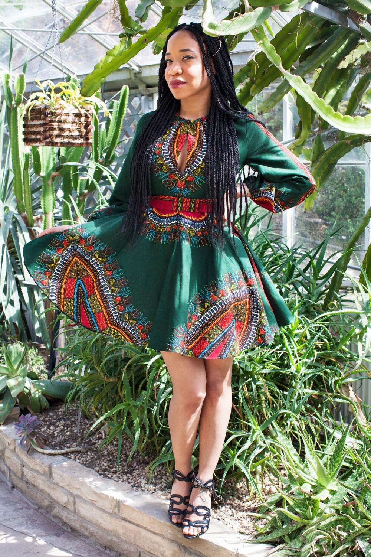 African High Waist Skirts