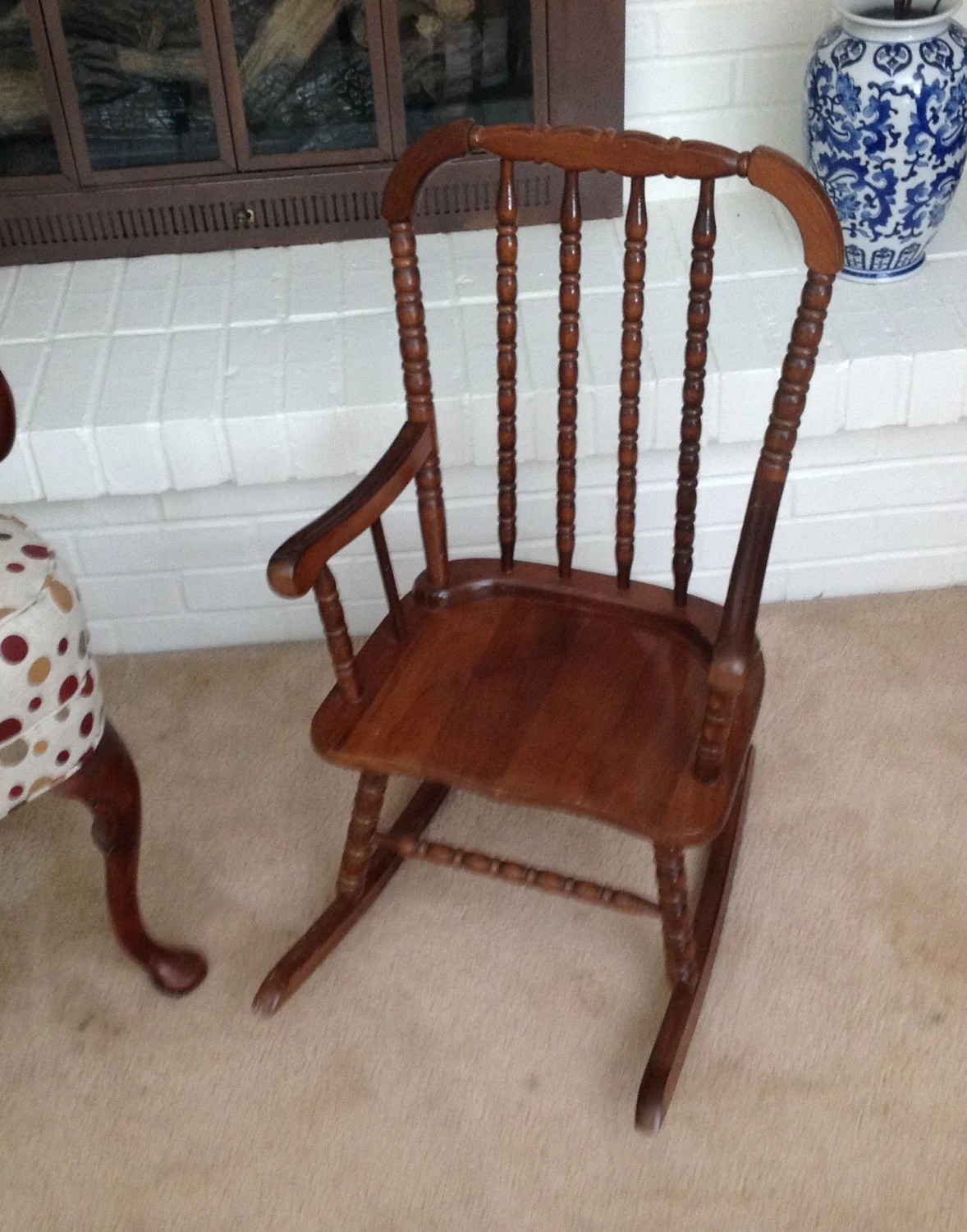 Jenny Lind Wood Child S Rocking Chair Rocker 1986