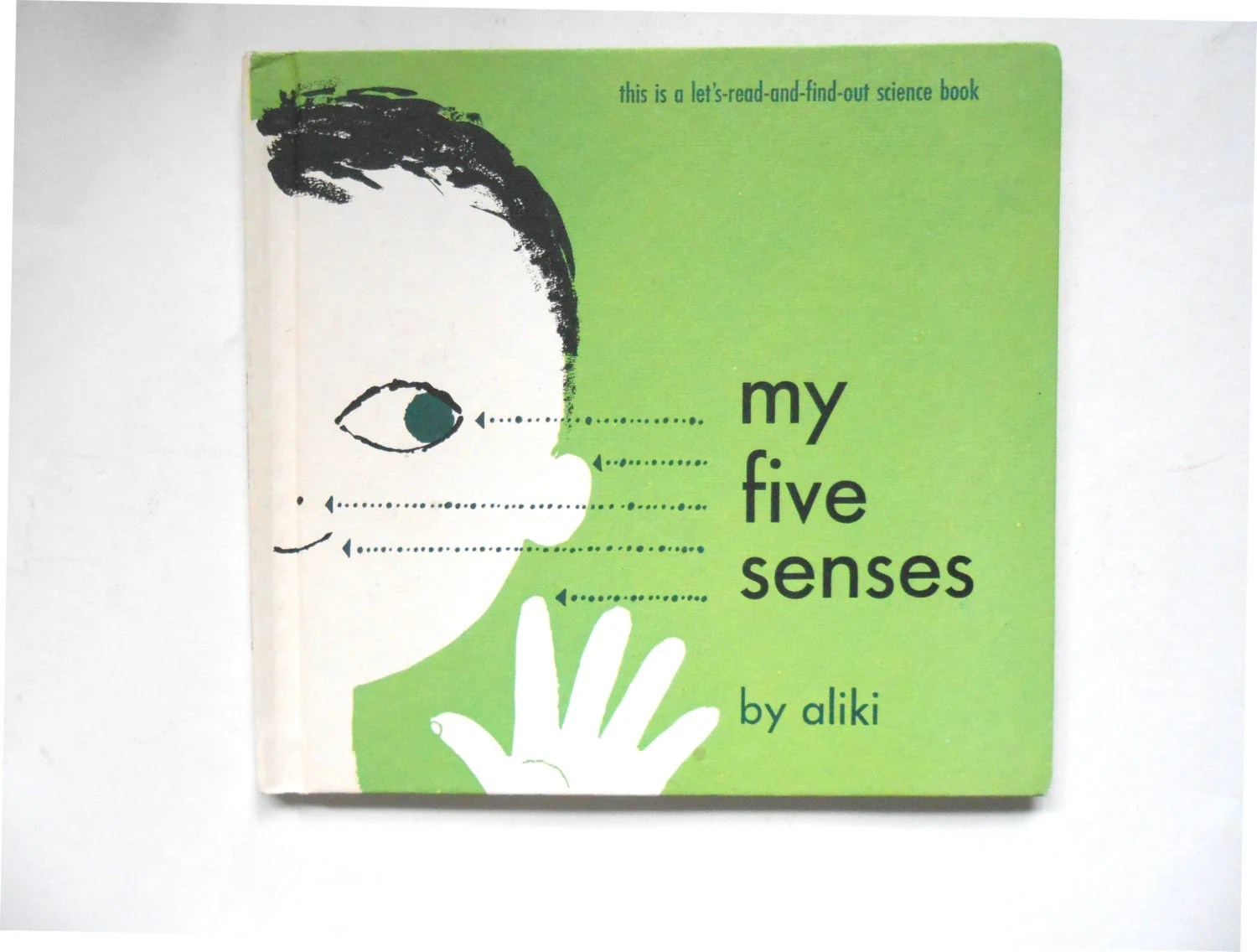 My Five Senses A Vintage Children S Book By By