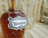 Bourbon Decanter Label, E...