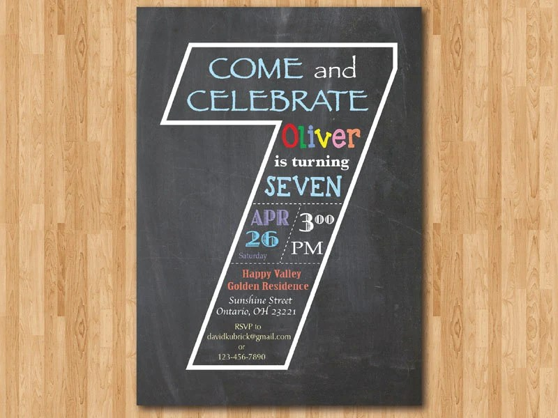 Free Printable 5x7 Invitations
