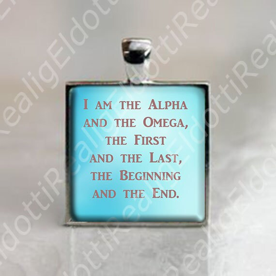 Alpha Am Beginning Omega Your I And And End