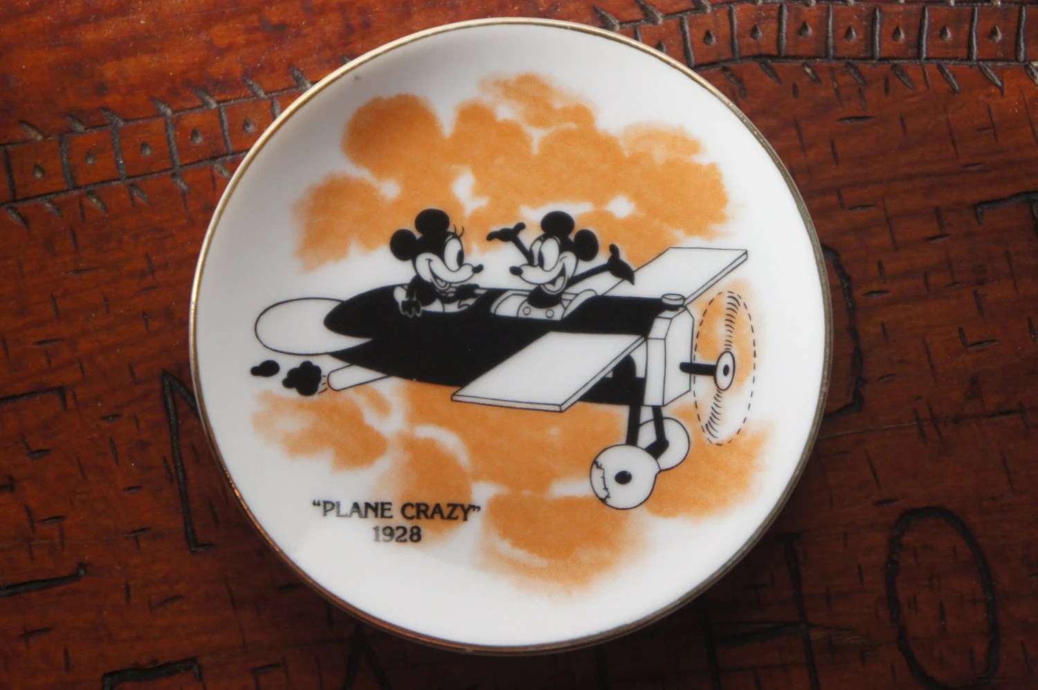 Plane Mickey Crazy Were