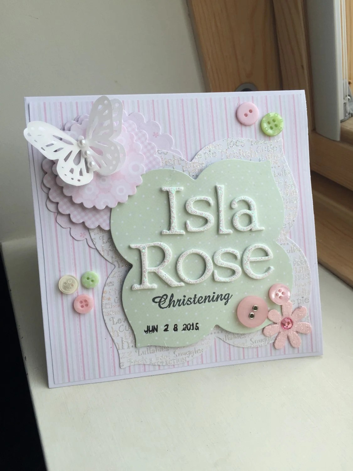 Personalized Christening Cards