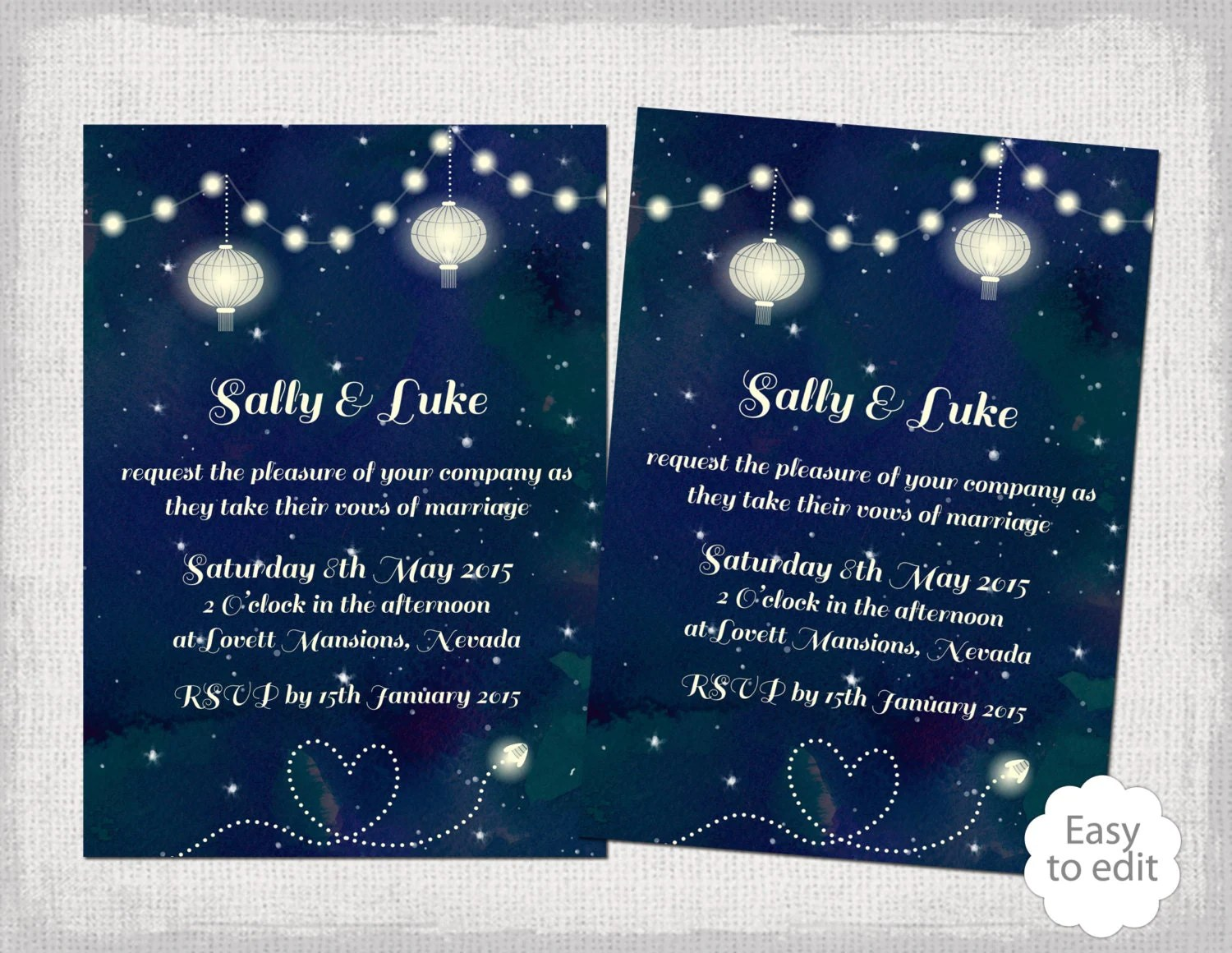 How Make Your Own Wedding Invitations