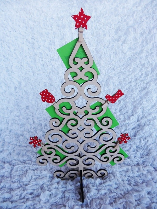 Christmas Tree Gift Card Holder To Hold Gift Cards Tickets