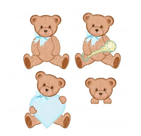 Knitting Clip Art Teddy Bears