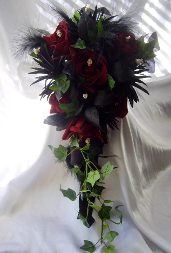 Skull Day Dead Bouquet