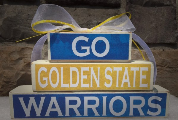 Custom College and Pro Sports Teams Golden State Warriors NBA