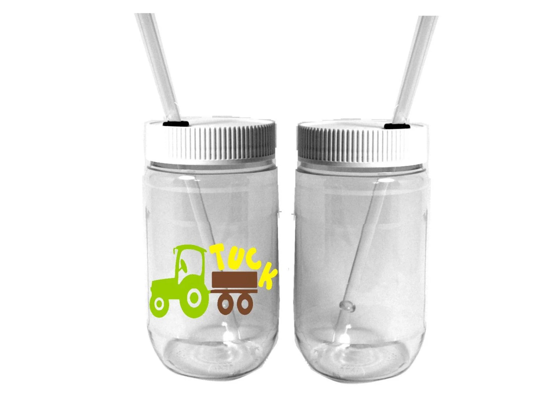 John Deere Plastic Cups