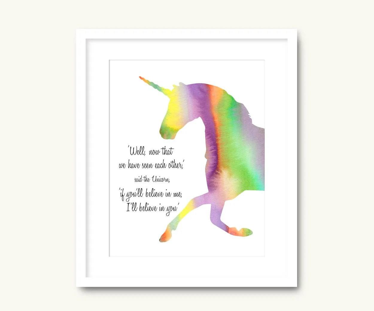 Unicorn Stencil Printable