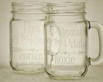 Mason jar flutes | Etsy