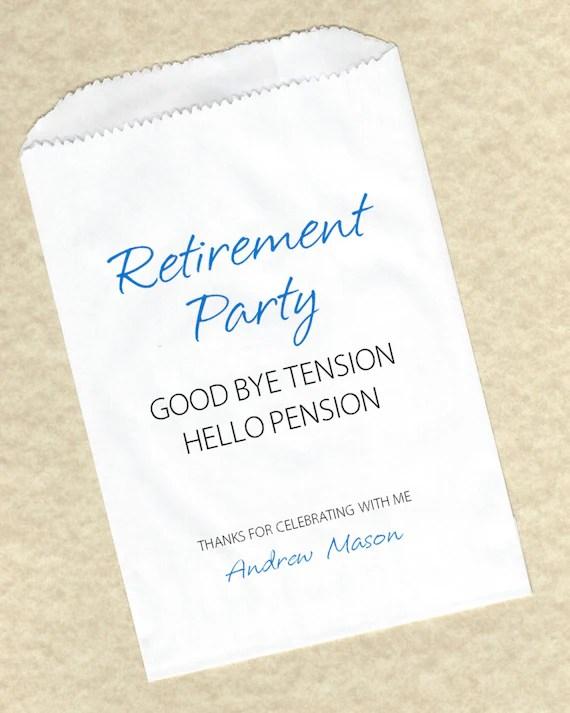 Unique Retirement Party Favors