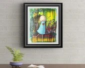 Dance To Your Own Music Signed Art Print of Signature Original By Rafi Perez