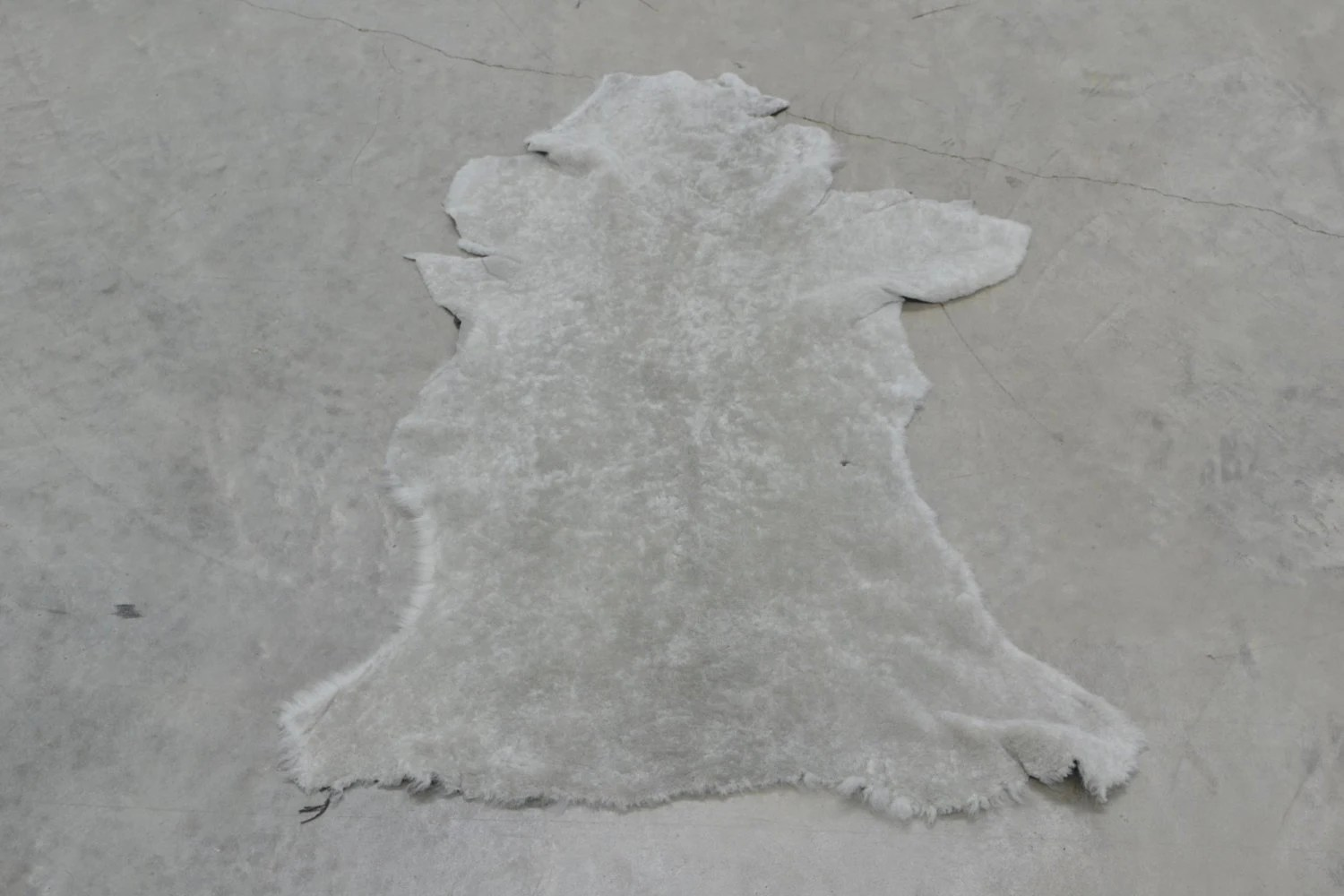 Leather Shearling Lamb Hide 4 3 Square Foot Wool Cover