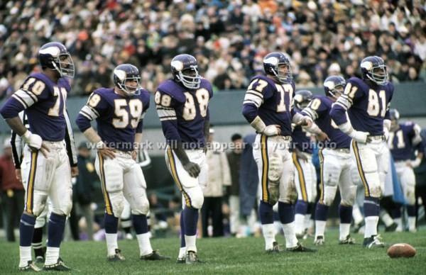 MINNESOTA VIKINGS Purple People Eaters Reprint by PictureRelic