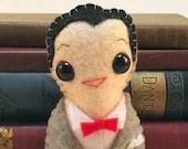 Pee Wee Herman plushie...