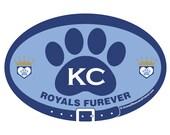 DECAL - KC Royals Furever...