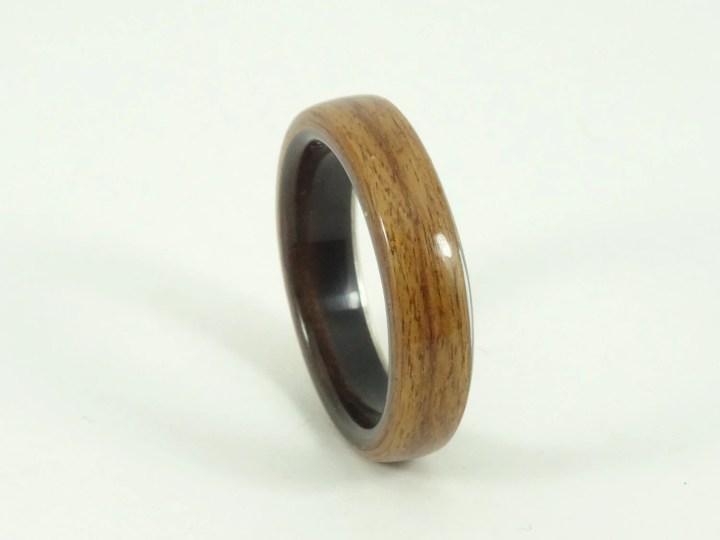 Bent Wood Ring - Rosewood...